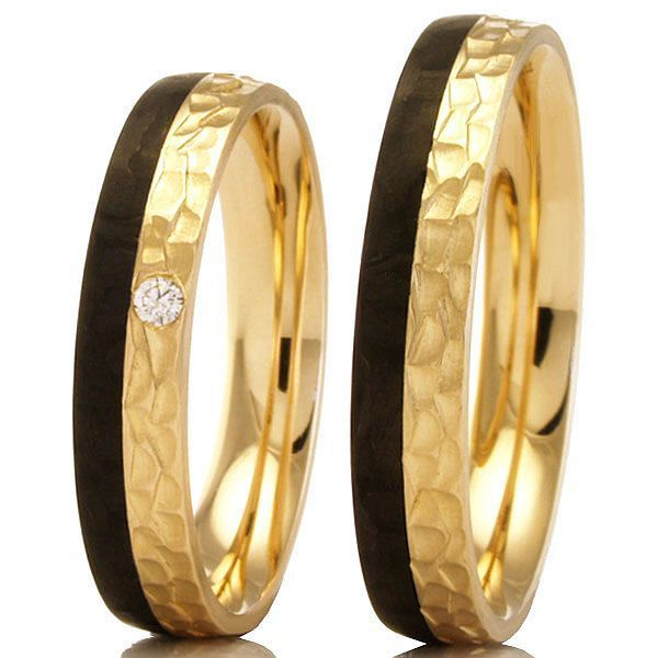 Bayer Apricotgold Carbon Ringe