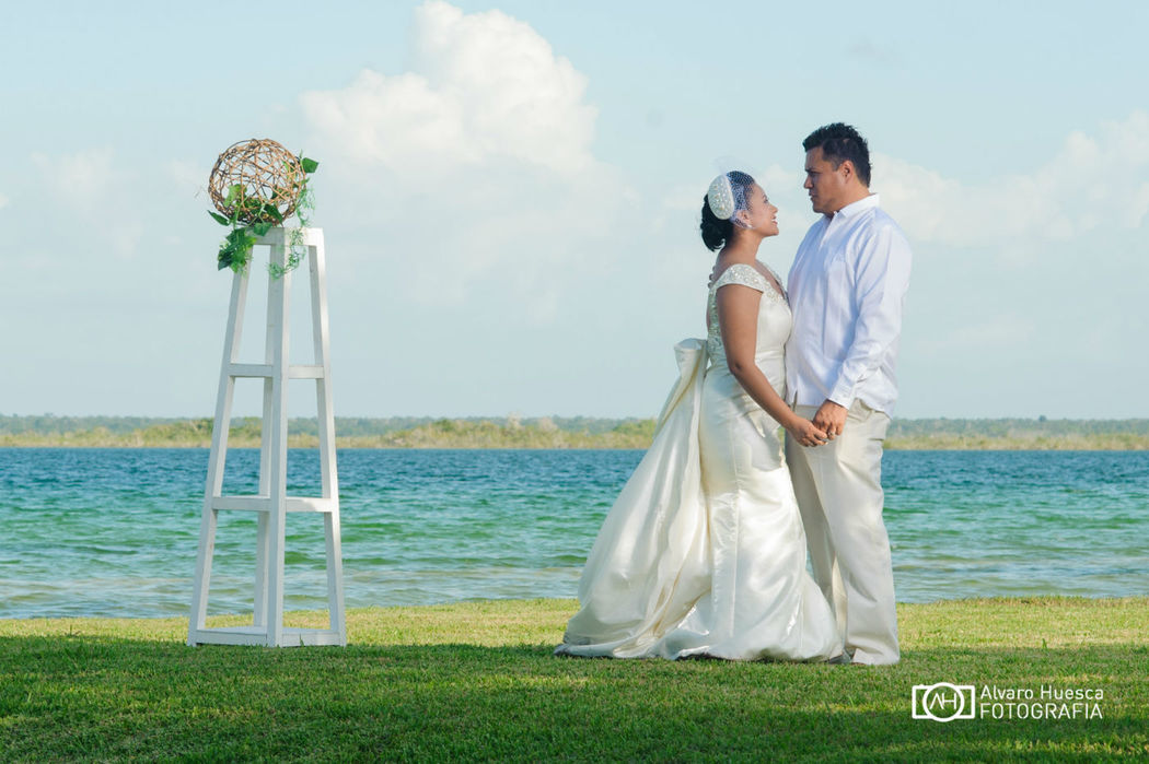 Para so bacalar bodas for Jardin 7 colores bernal