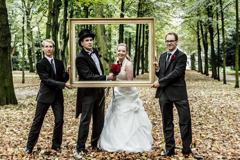 Beispiel: Originelle Fotos von Ihrer Hochzeit, Foto: Alexander Vejnovic.