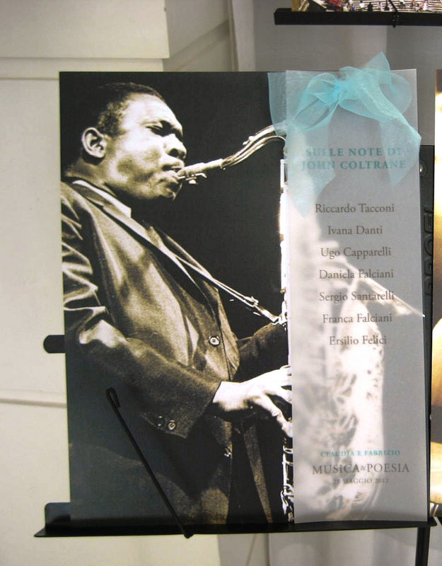 Tableau de Mariage moderno ispirato alla musica jazz
