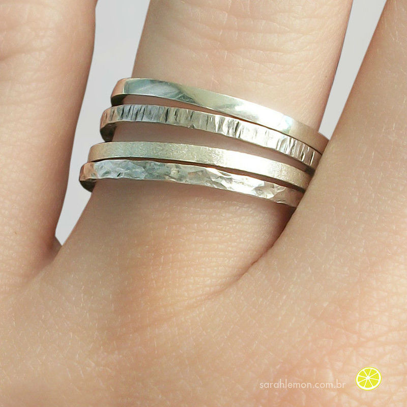 Anéis Quatro Elementos Sarah Lemon
