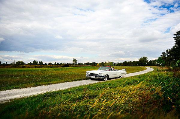 Beispiel: Hochzeitsauto, Foto: Durchgeplant.