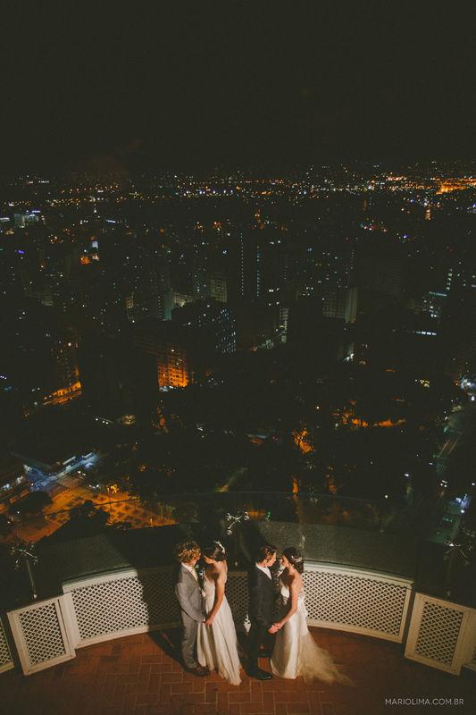 Casamento real - Área externa