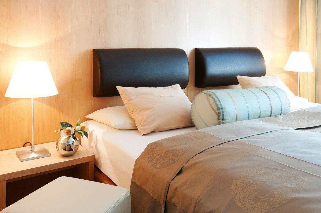 Beispiel: Blumenzimmer, Foto: Hotel Hirschen Dornbirn.