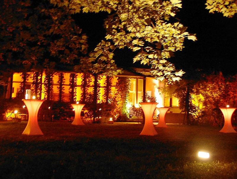 Beispiel: Empfang, Foto: Schloss Ziethen.