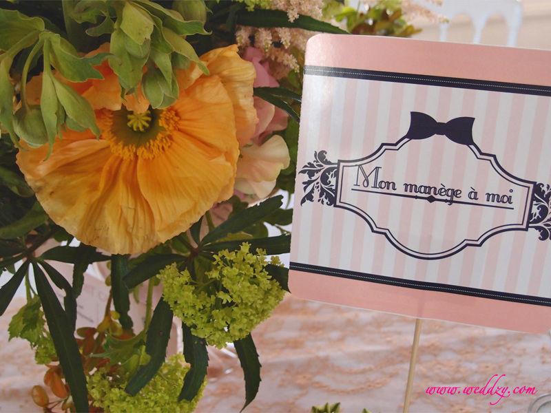 Décoration mariage Weddzy