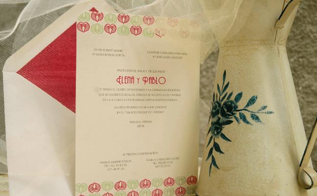 Invitación Corazones