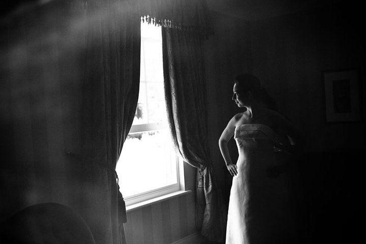 Beispiel: Portrait der Braut, Foto: Matthias Richter Photography.