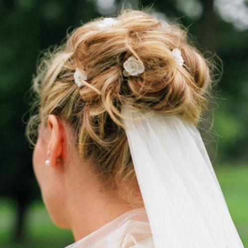 Beispiel: Brautfrisur, Foto: Hairconnect.