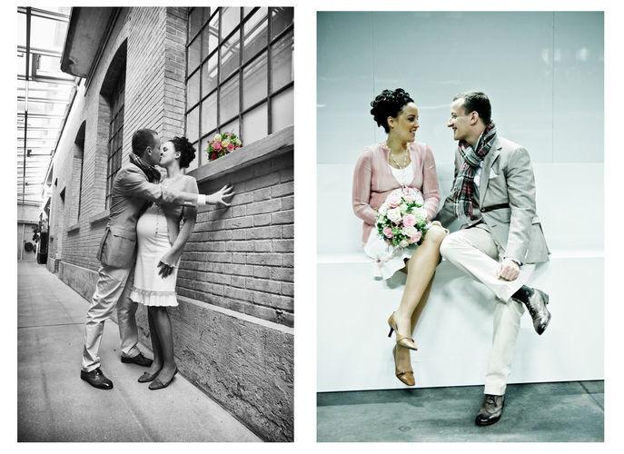 Beispiel: Portrait des Brautpaares, Foto: Art 17.