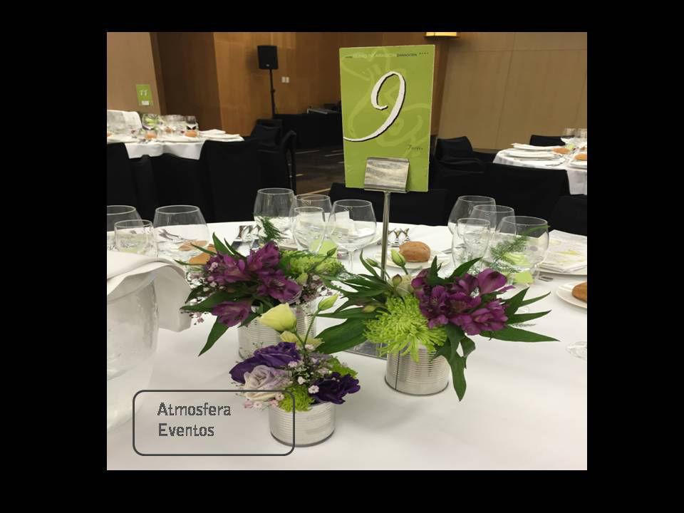 Decoración mesas personalizada