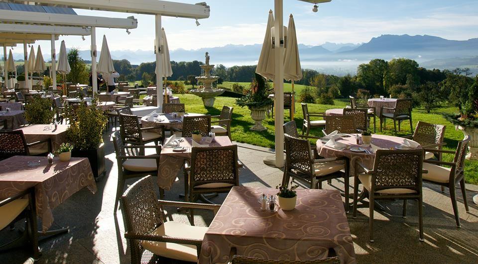 Beispiel: Terrasse, Foto: Hotel Restaurant Vogelsang.