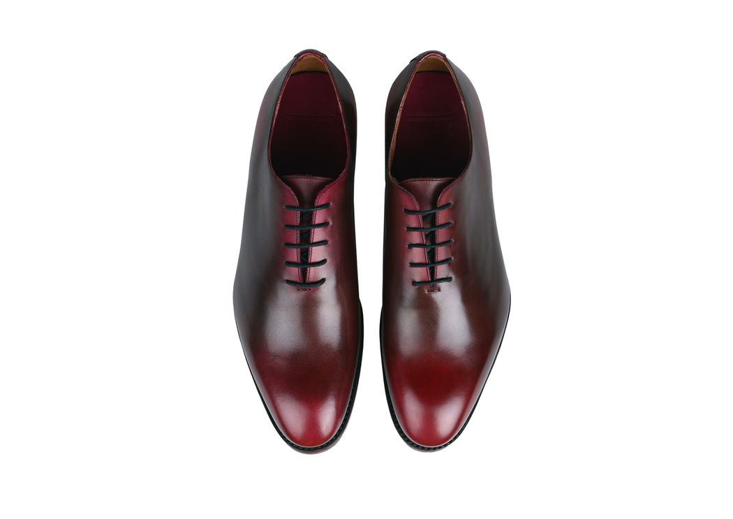 Le richelieu Shoe Up - patine rouge foncé