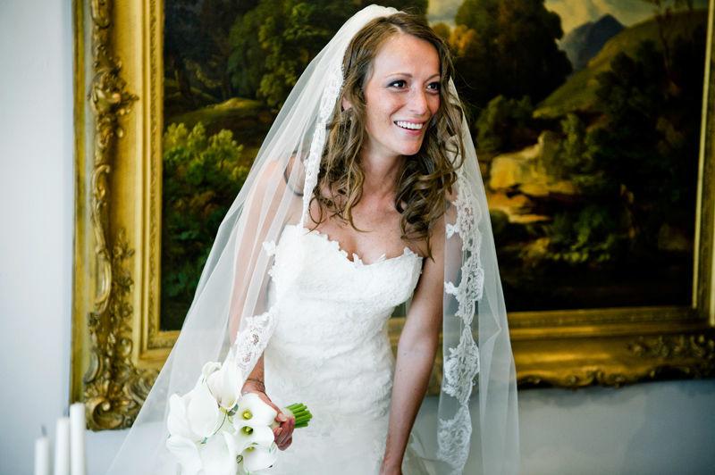Beispiel: Portrait der Braut, Foto: Martina Rinke | Fotografie.