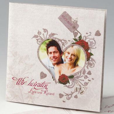 Beispiel: Ihre persönliche Hochzeitseinladung, Foto: einladungskarten4you.