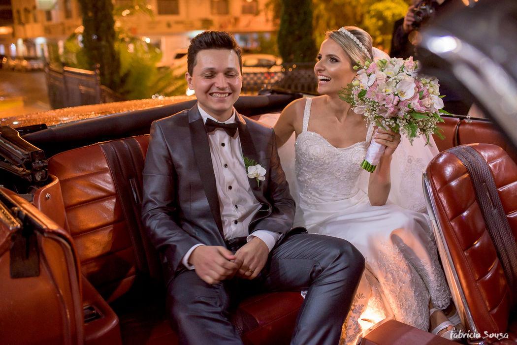 noivos recém-casados