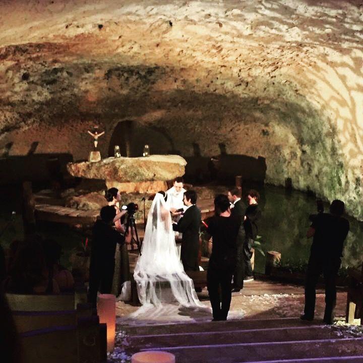 Ceremonia Católica en Xcaret