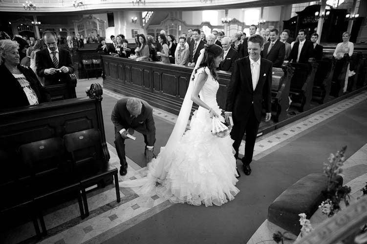 Beispiel: Fotos von der Trauung, Foto: Engels Hochzeiten.