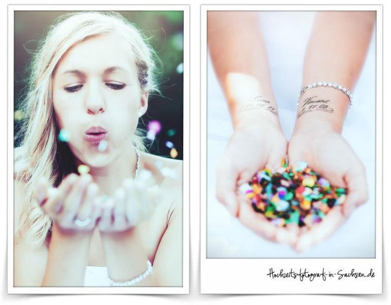 Beispiel: Hochzeits-Fotografie mal anders, Foto: Jeannette Koch Fotografie.