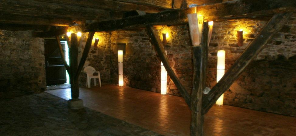 Salle de réception - La grande médiévale