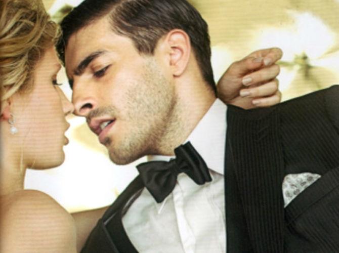Beispiel: Hochzeitsmode, Foto: Modehaus Zins.