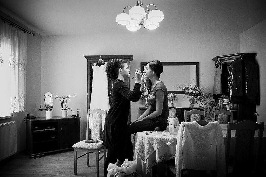 Przygotowania do ceremonii ślubnej