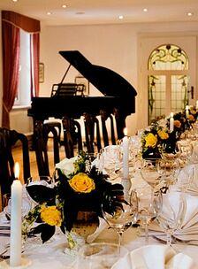 Beispiel: Tischdekoration, Foto: Rittergut Bömitz.