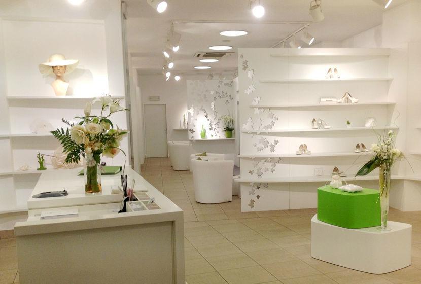 Beispiel: Eindruck vom Ladengeschäft, Foto: Sposa Vienna.