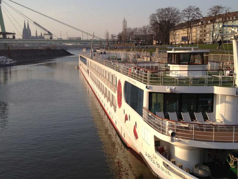 Beispiel: Kreuzfahrtschiff, Foto: A-Rosa.