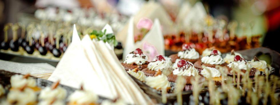 Beispiel: Kulinarische Köstlichkeiten, Foto: Stroh Catering.