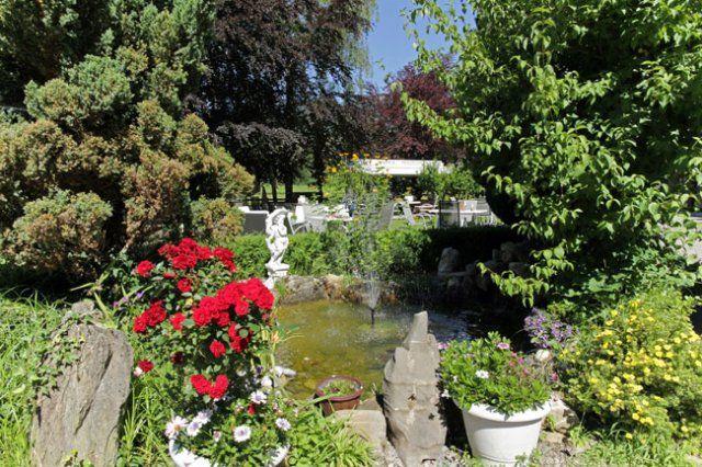 Beispiel: Garten, Foto: Hotel Bahnhof.