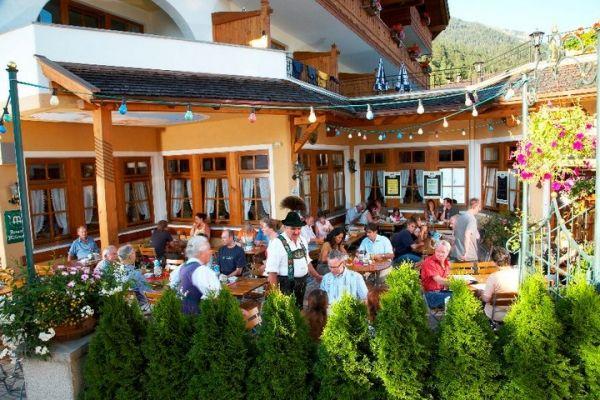 Beispiel: Biergarten, Foto: AKZENT Hotel Schatten.