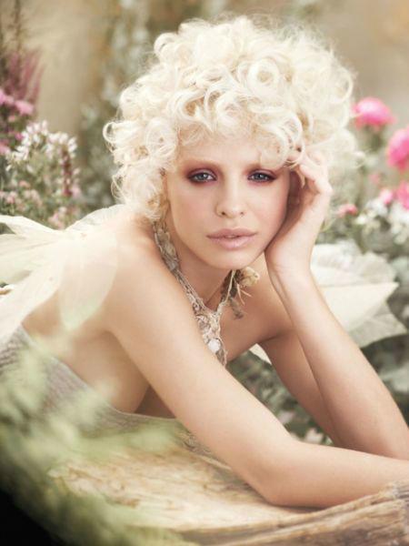 Beispiel: Brautfrisur, Foto: Oliver Gerbert Haare.
