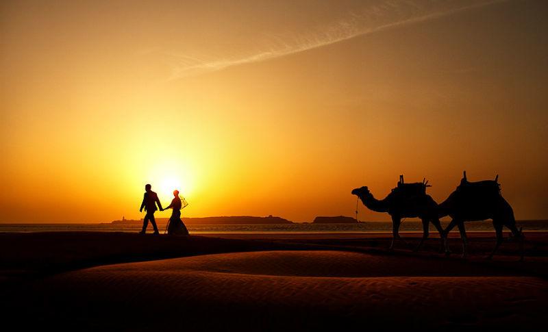 Beispiel: Romantische Hochzeitsreportagen, Foto: raman weddings.