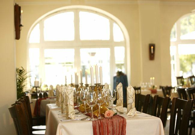 Beispiel: Innenansicht - Bankett, Foto: Hotel Alte Feuerwache.