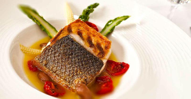 Beispiel: Unwiderstehliche Fischgerichte, Foto: Dobler's Restaurant.