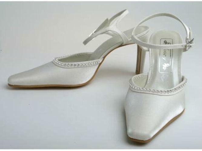 Beispiel: Schuhe für die Braut mit Stil, Foto: Brandos.de.