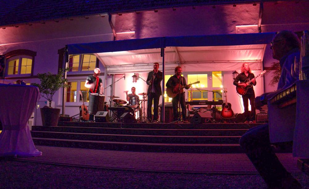 Ein Konzert im Innenhof!