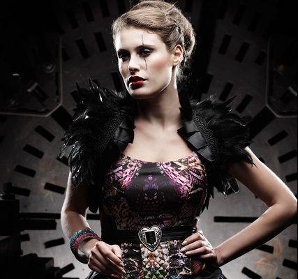 Beispiel: Dirndl Couture, Foto: Lucardis Feist.