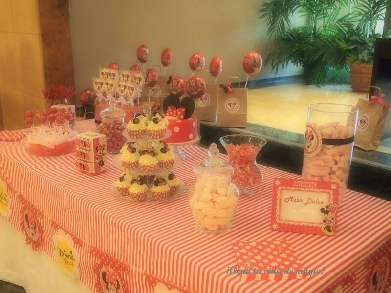 Mesa dulce infantil