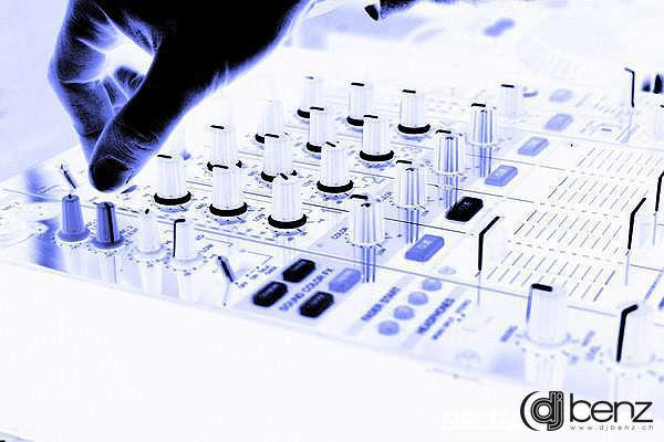 Beispiel: DJ-Pult, Foto: DJ Benz.