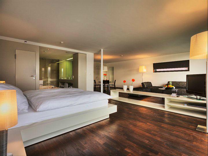 Beispiel: Luxuriöse Suiten, Foto: Seehotel Hermitage.