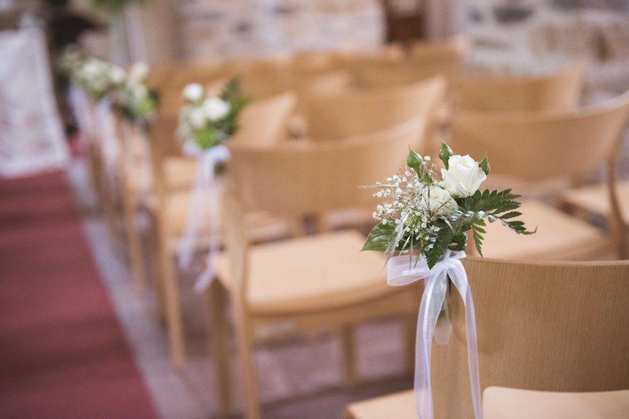 Schlosskirche Spiez, Hochzeitsdekoration