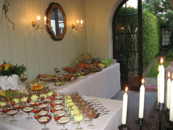 Beispiel: Büffet, Foto: Restaurant Rosenhof.