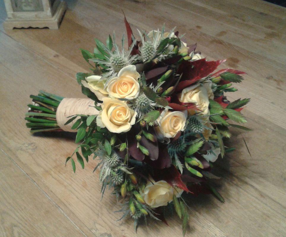 Bouquet de mariée automnale/Estelle Leclerc