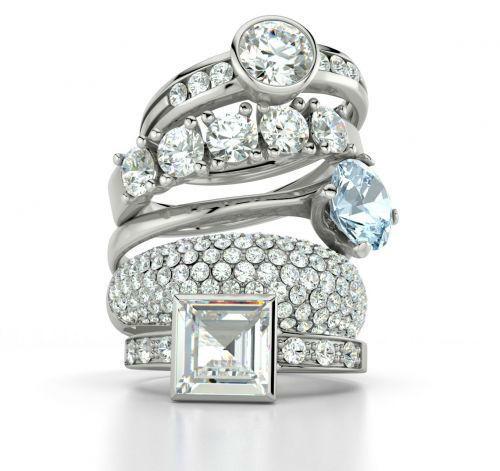 Bagues de fiançailles. Foto: 21 Diamonds