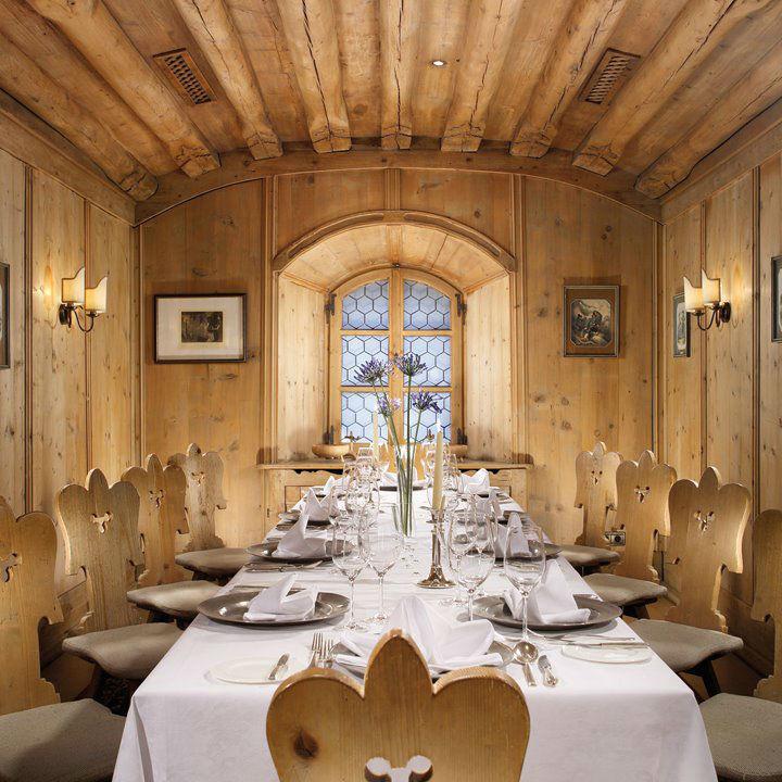 Beispiel: Alte Stube, Foto: Grand Hotel Europa Innsbruck.
