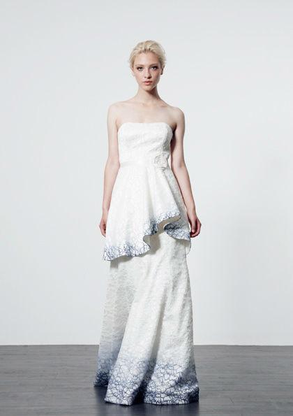 Beispiel: Kleider für selbstbewusste Bräute, Foto: Salon.