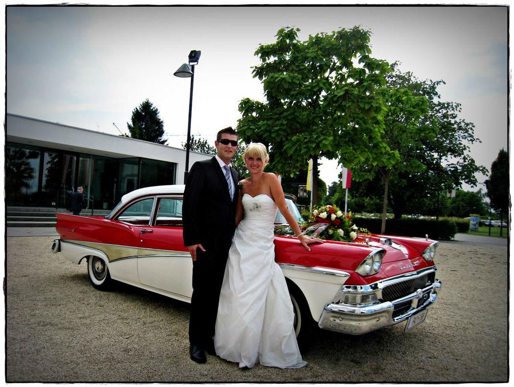 Beispiel: Mieten Sie sich einen Oldtimer, Foto: US-Car Friends Vorarlberg.