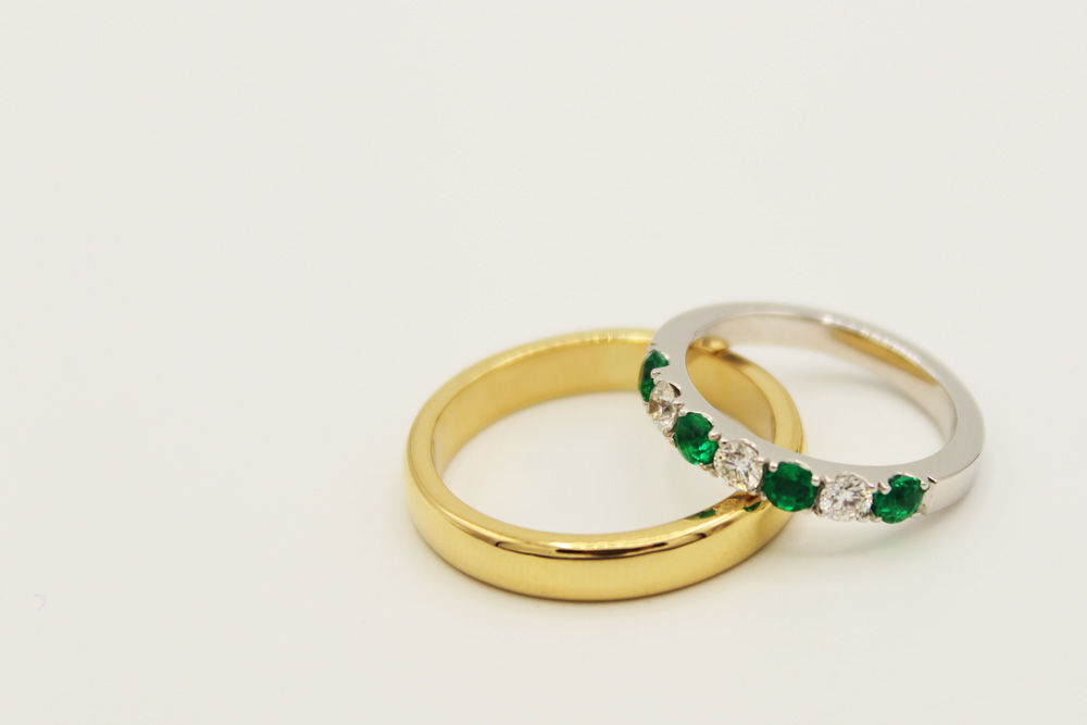 Argollas matrimonio en oro certificado fairmined